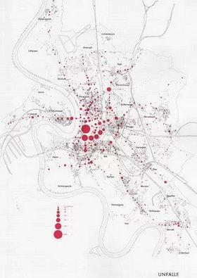 红白|区域|圆点