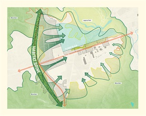 总平分析|绿化分析|景观分析|结构分析|轴线分析