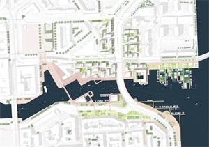 总平面|规划总平面|城市设计总平面